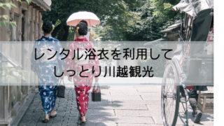 浴衣姿で石畳の道を歩く2人の後ろ姿の女性
