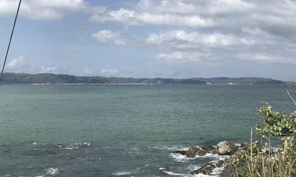 仁右衛門島の展望所からの景色