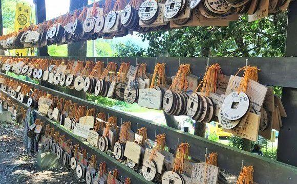 秩父聖神社に納められているたくさんの絵馬