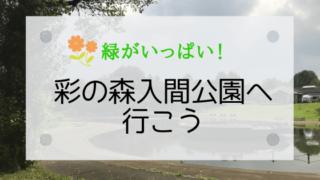 彩の森公園のブログアイキャッチ画像
