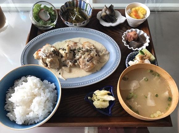 貝殻喫茶室の日替わり定食ランチ