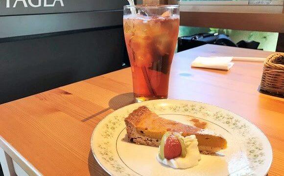 レシピレシピのランチデザート(かぼちゃのタルト)