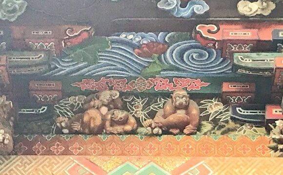秩父神社社殿の見事な彫刻