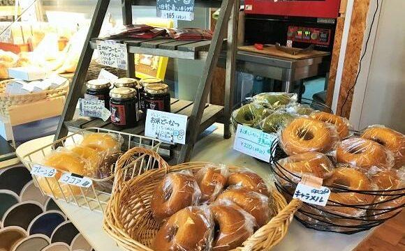 『コイガクボ』で販売されている焼きドーナッツ